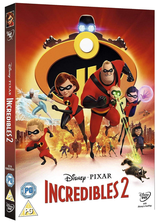 429f83b5c Incredibles 2  DVD   2018   Amazon.co.uk  DVD   Blu-ray