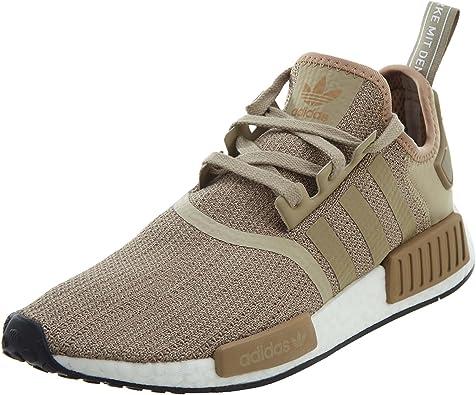 Amazon Com Adidas Men S Originals Nmd R1 Shoes Tan White