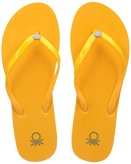 United Colors of Benetton Women's Flip-Flops and House Slippers Flip-Flops & House Slippers at amazon
