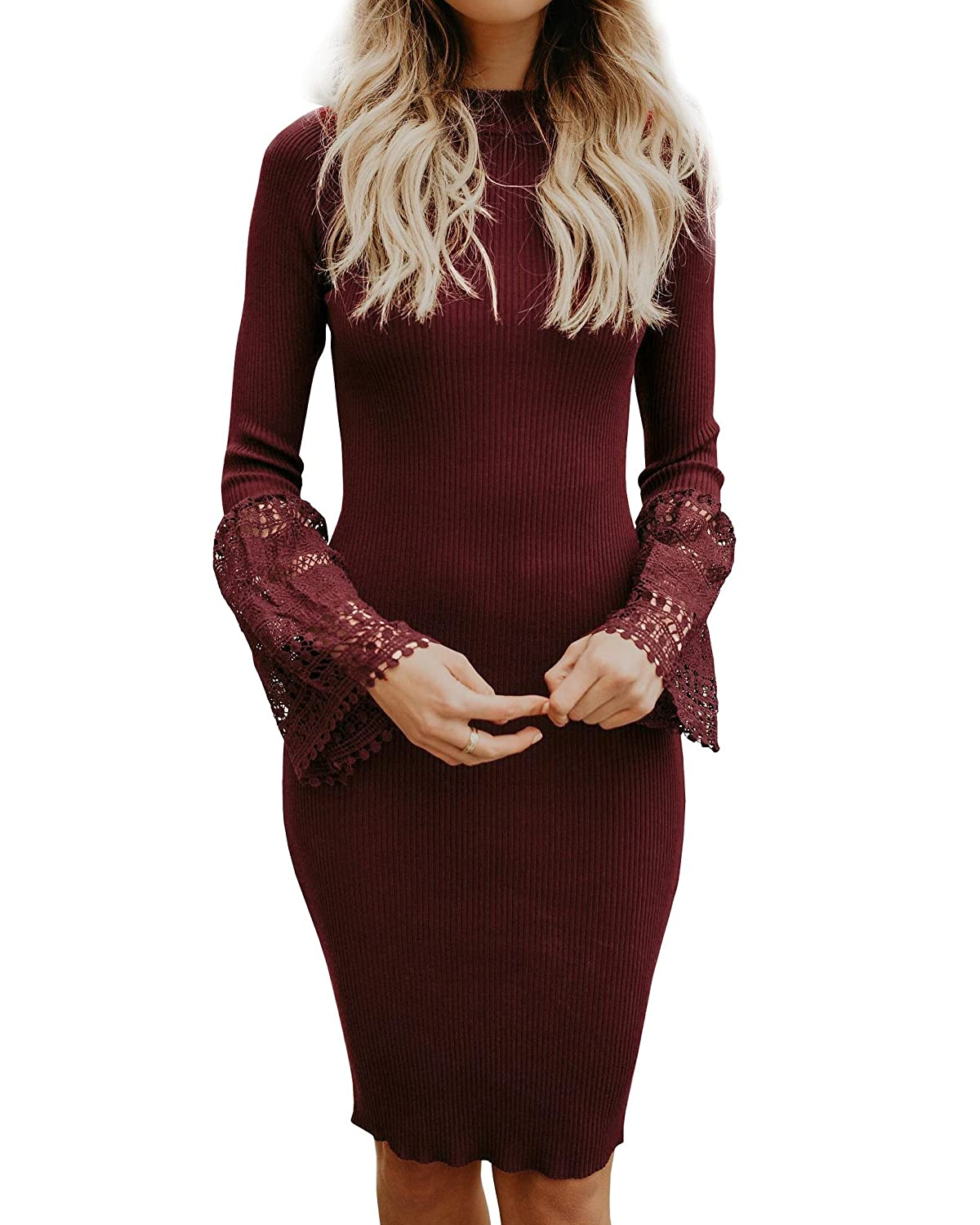ee2c3ee3898 Top 10 wholesale Lace Mock Neck Sheath Dress - Chinabrands.com