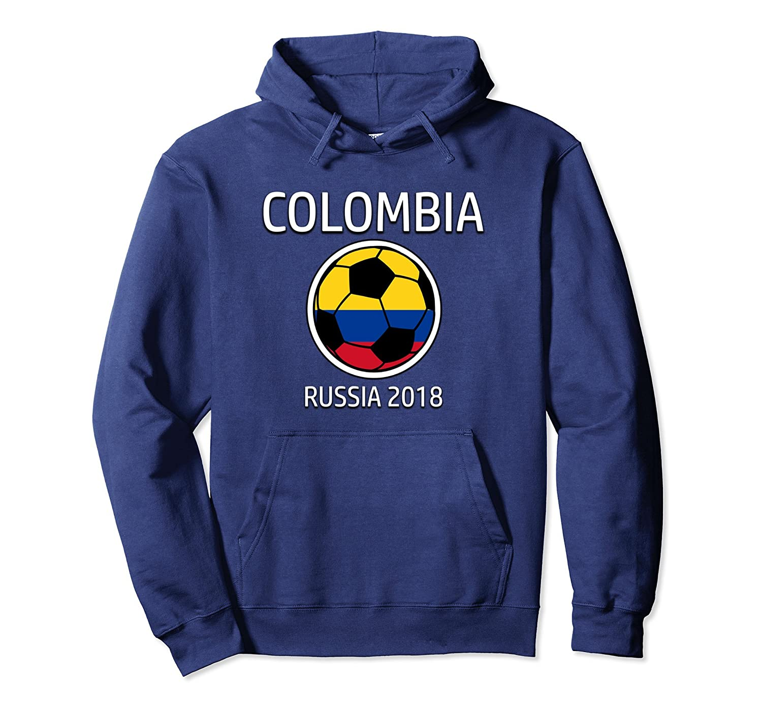 Colombia Colombian Soccer Team 2018 Football Hoodie-ah my shirt one gift 121a159ef