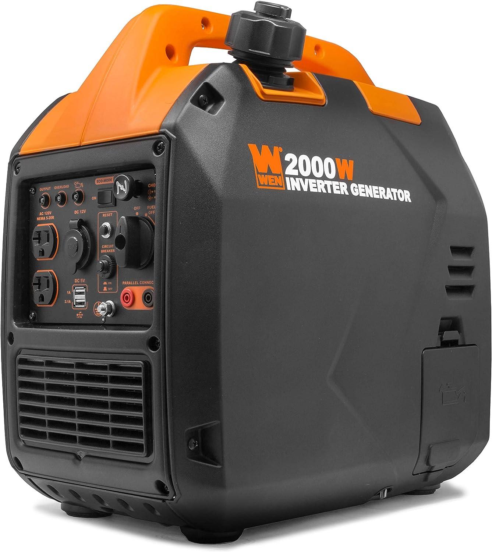 WEN 56203i Super Quiet 2000-Watt Portable Inverter Generator