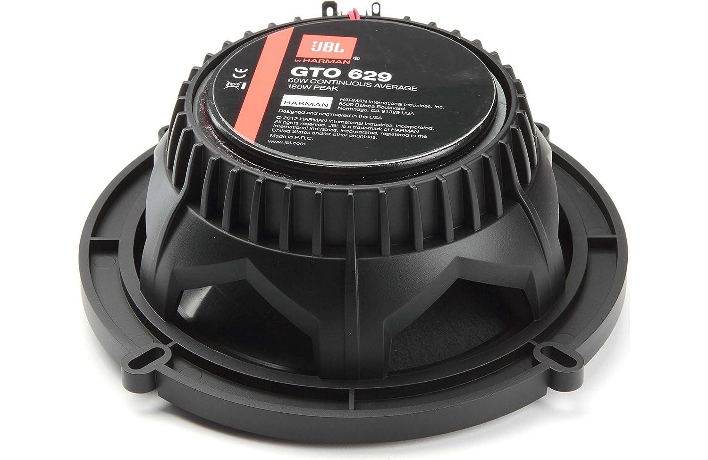 1Pair GTO629 1Pair JBL GTO609C Premium 6.5-Inch Component Speaker System JBL GTO629 Premium 6.5-Inch Co-Axial Speaker CACHE BUNDLE GTO609C