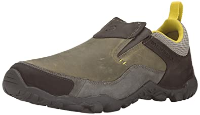 Merrell Men's Telluride Moc Slip-on Shoe, Brindle, ...