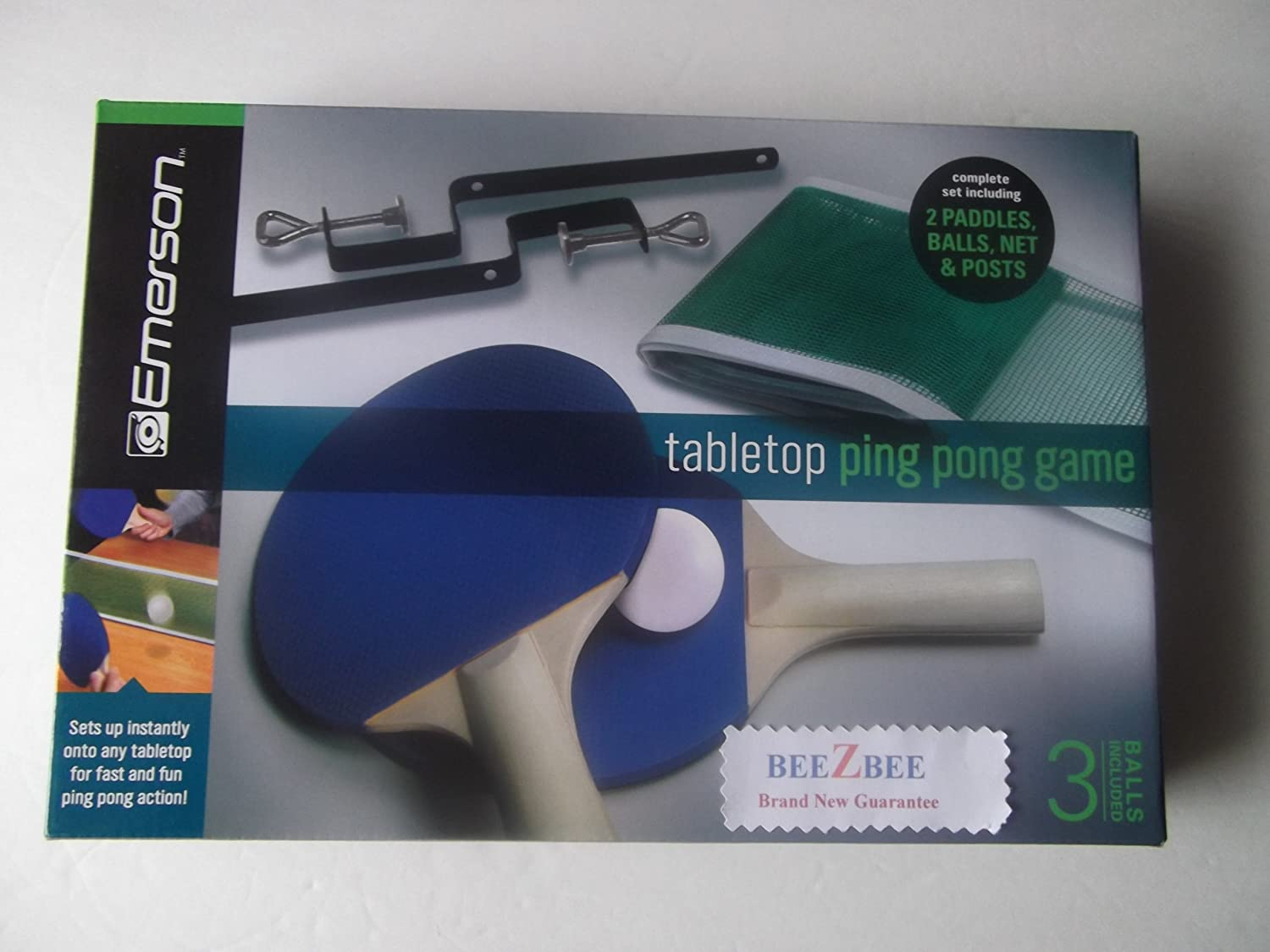 Best Emerson Tabletop Ping Pong Game Set With Replacement Ping Pong Table  Top