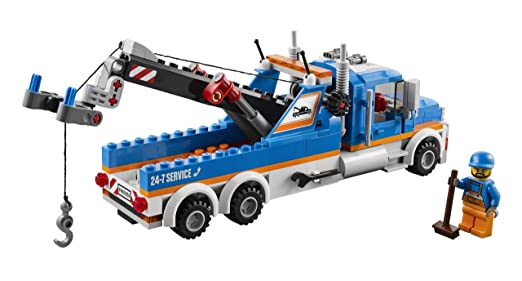 Buy LEGO City Great Vehicles 60056 Tow Truck Online at Low Prices in ...