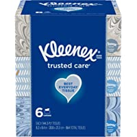 Deals on 12-Pack Kleenex Trusted Care Everyday Facial Tissues 144-Ct