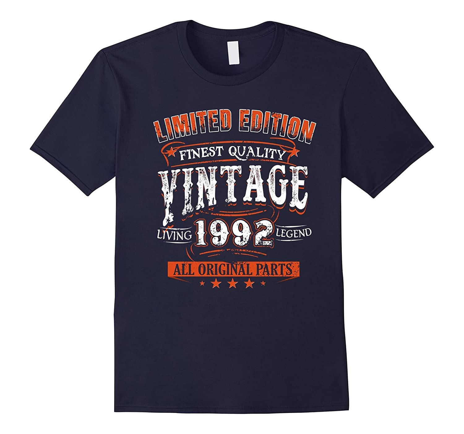 1992 T-Shirt 25th Birthday Gifts 25 Year Old B-day VINTAGE-TH