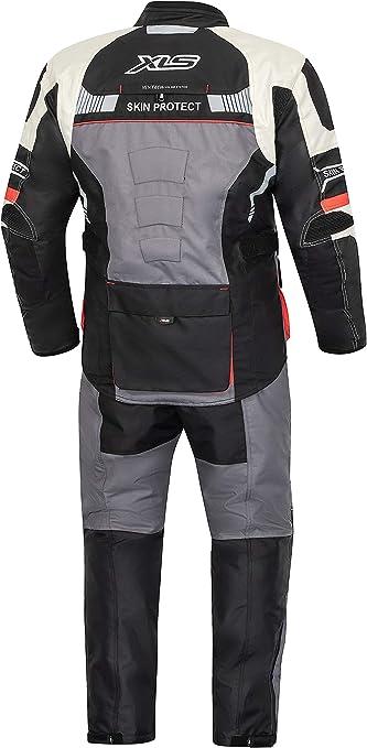 Xls Textilkombi Hochwertige Motorradkombi X Drive Textil Atmungsaktiv Wasserdicht 6xl Auto