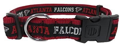lowest price 589c6 a18ee Pets First NFL Dog Collar. 32 NFL Teams Available in 4 Sizes. Heavy-Duty,  Strong & Durable NFL PET Collar. Football Gear for The Sporty Pup.