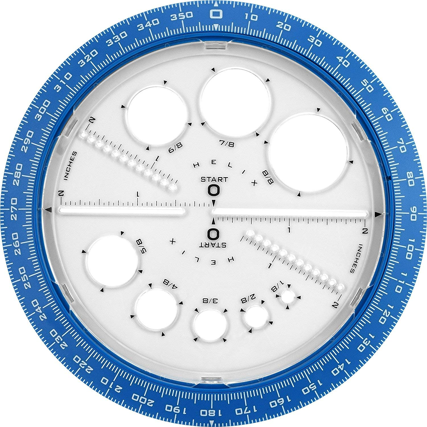 Helix 360° Angle and Circle Maker, Assorted Colors, 5 Pack by Maped Helix USA (Image #2)