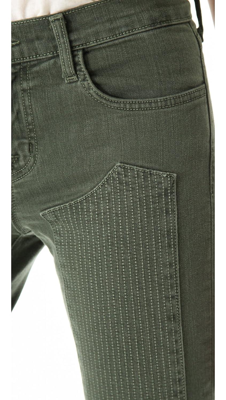 Amazon.com: J Brand Roz Moto - Pantalones vaqueros para ...