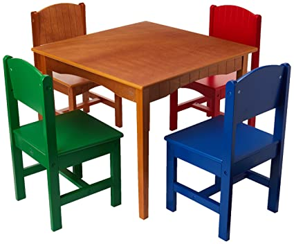 Nantucket Table and Primary Chairs  sc 1 st  Amazon.com & Amazon.com: Nantucket Table and Primary Chairs: Toys u0026 Games