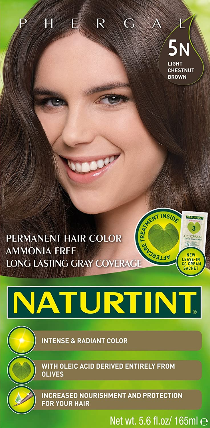 Amazon 6 Pack Of Permanent Hair Color 5n Light Chestnut