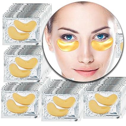 VAGA 50 pares de parches de colageno dorado para eliminar ...
