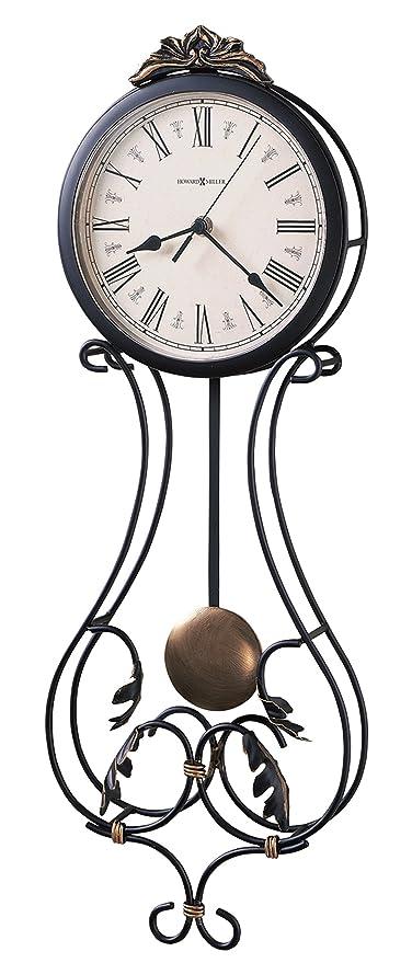 Amazon Com Howard Miller 625 296 Paulina Wall Clock Home Kitchen