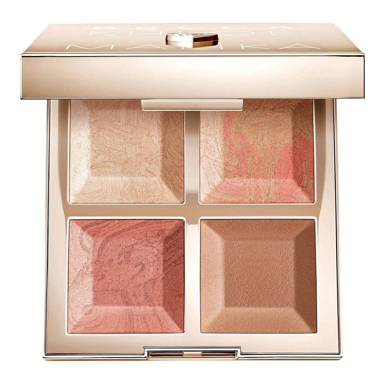 BECCA x Khloé Kardashian & Malika Haqq Bronze, Blush & Glow Palette (0.42 oz/12.g) (GOLD/KHLOE)