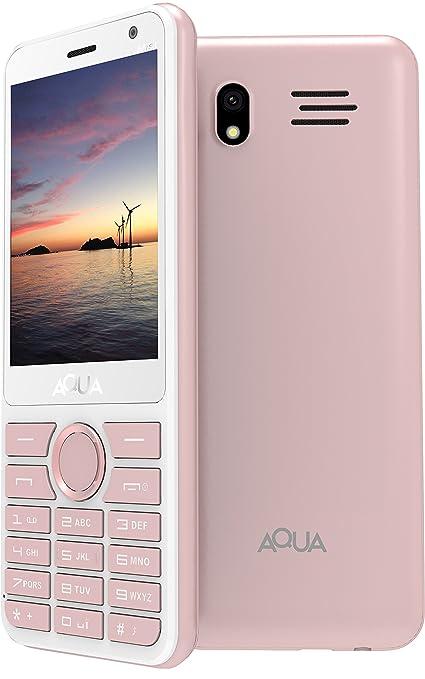 a8420f4d841 Aqua Mist - 2.8 Inch Display Dual SIM Basic Keypad Mobile Phone with 2100  mAh Battery