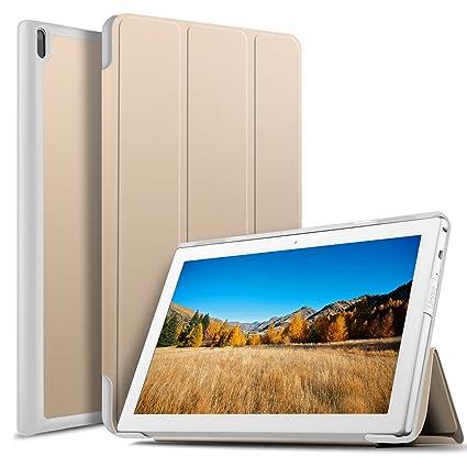 more photos 4ea24 2abca Amazon.com: Luibor Lenovo TAB E10 TB-X104F Case - Ultra Lightweight ...