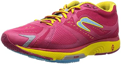 Women's Newton Running Motion IV, Cranberry/Yellow, ...