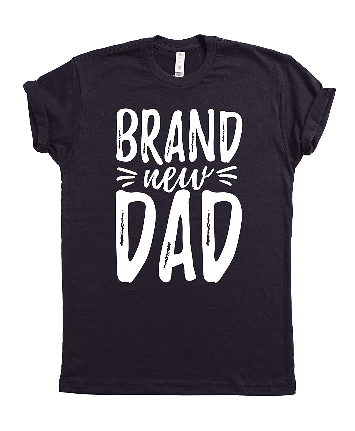 c53b44cf Brand New Dad T-shirt, Fathers Day T-shirt, Daddy's Day Tee, Father's day Gift  Ideas, Fathers Day Presents,Best Father's Gifts, New Dads Gift, First Time  ...
