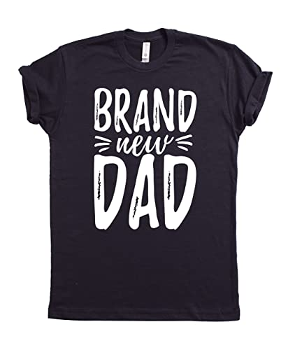 cbdc62cd Brand New Dad T-shirt, Fathers Day T-shirt, Daddy's Day Tee, Father's day  Gift Ideas, Fathers Day Presents,Best Father's Gifts, New Dads Gift, First  Time ...