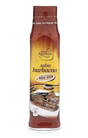 Salsas Asturianas Salsa Barbacoa - 1000 gr - [Pack de 6]