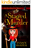 A Staged Murder (Back Room Bookstore Cozy Mystery Book 3)