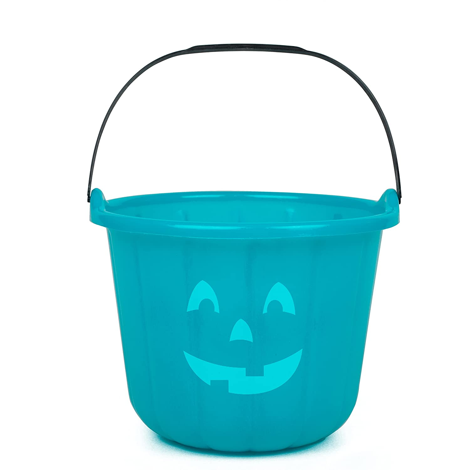 Teal Pumpkin Project Halloween Trick or Treat Bucket - All Sales Supports F.A.R.E.