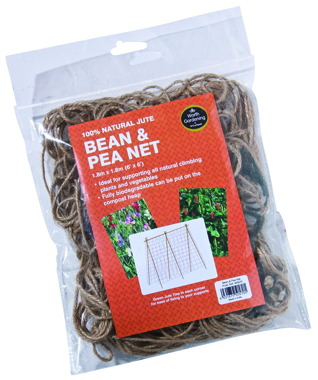 Bean & Pea Net 1.8m (6') x 1.8m (6')