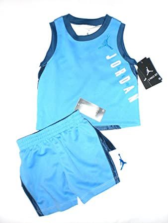 e8bb13bf1d0c Image Unavailable. Image not available for. Color  Nike Air Jordan Toddler  Tank-Top   Short ...