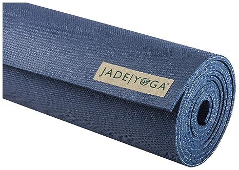 Jade Yoga 2 tone mat, Slate blue/Midnight blue: Amazon.es ...