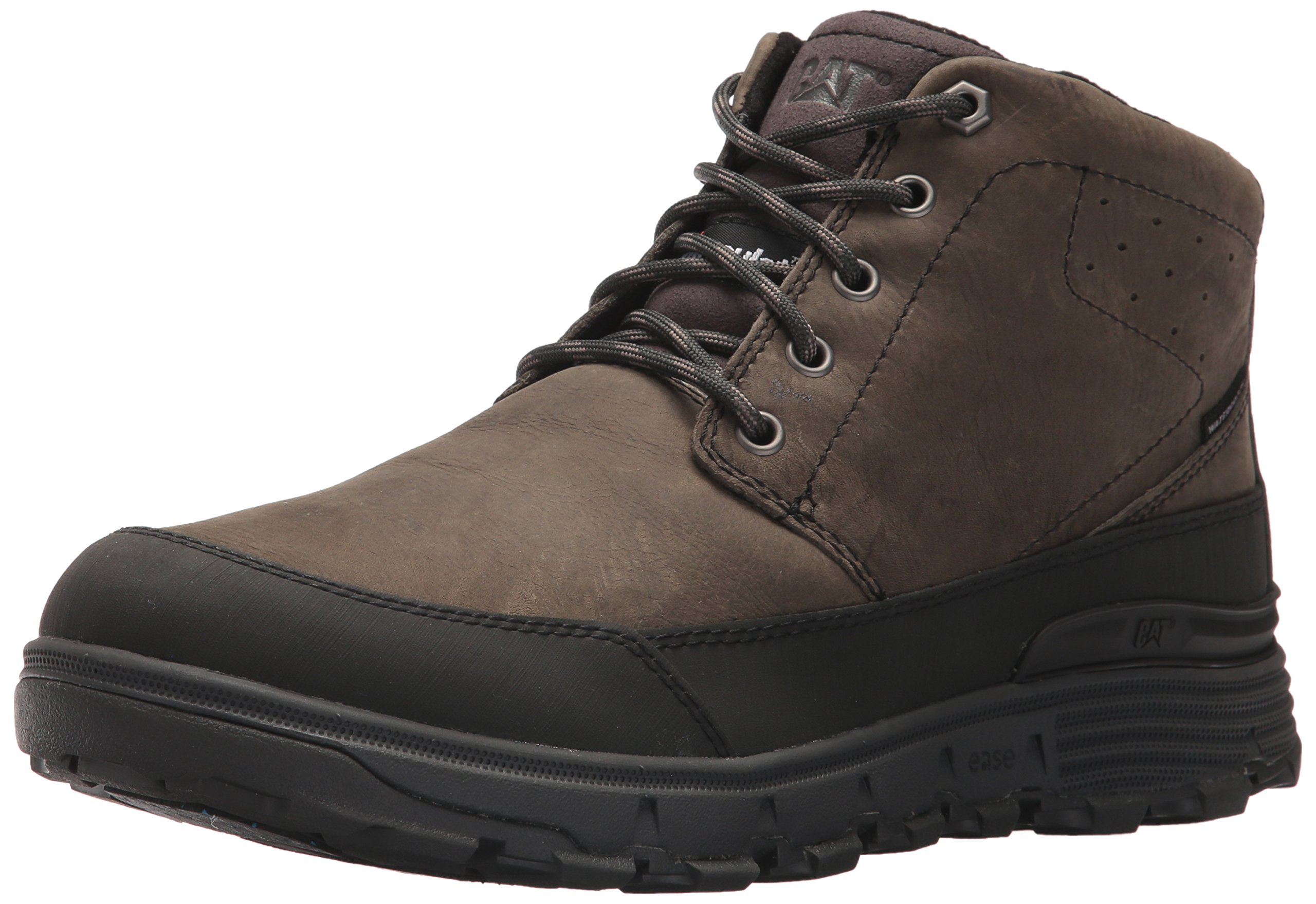 Caterpillar Men's Drover Ice+ Waterproof TX Winter Boot, Dark Gull Grey, 11.5 D US