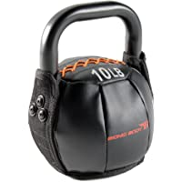 Bionic Body Soft Kettlebell with Handle - 10, 15, 20, 25, 30 lb. for weightlifting, conditioning, strength and core training