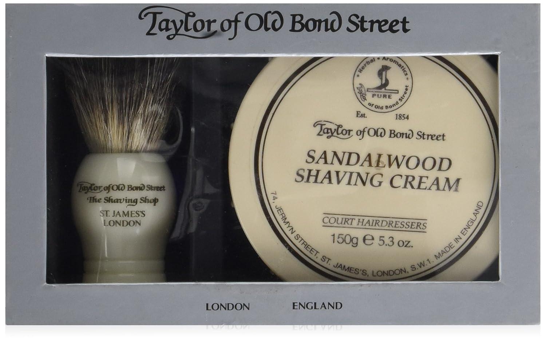 Taylor of Old Bond Street Set de Rasage avec Blaireau et crème à Raser 00206