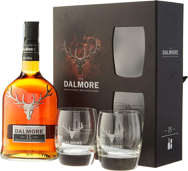 Dalmore - Highland Single Malt & Glasses Gift Pack - 15 year old ...