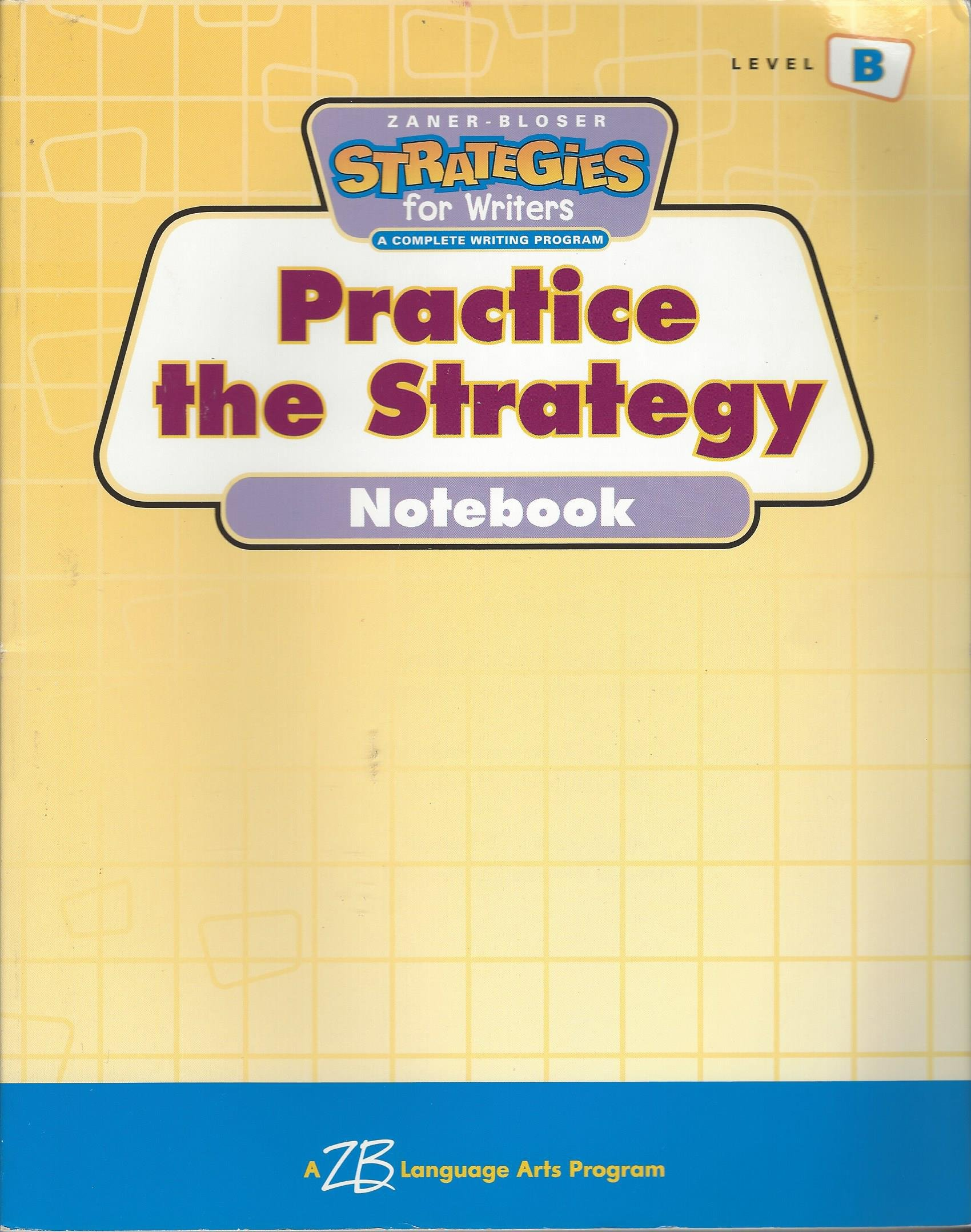Download Strategies for Writers: Practice the Strategy- Workbook, Grade 2, Level B pdf epub