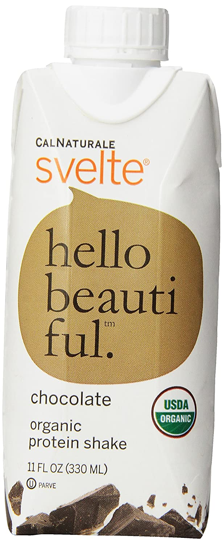 Amazon.com : CalNaturale Svelte Organic Protein Shake, Chocolate ...