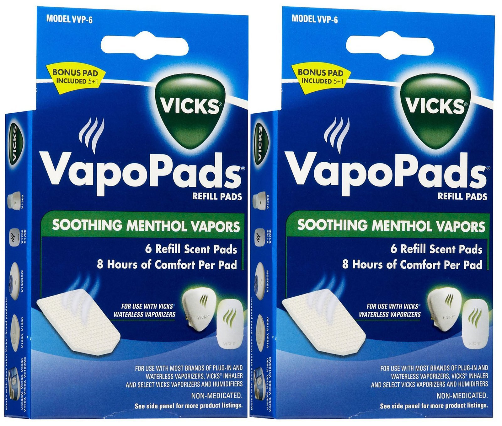 Vicks VapoPads Soothing Vapors Replacement Pad - 2 pk by Vicks