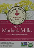 TRADITIONAL MEDICINALS HERB TEA,OG1,MOTHER'S MLK, 16 BAG (Pack of 4)