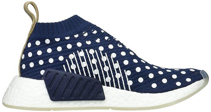 b5d5ed66d Adidas Originals NMD CS2 Primeknit Boost W Women s Trainers Blue BA7212   Amazon.co.uk  Shoes   Bags