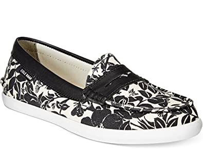 df569fc636c Cole Haan Women's Pinch Weekender Mono Floral Print Penny Loafer ...