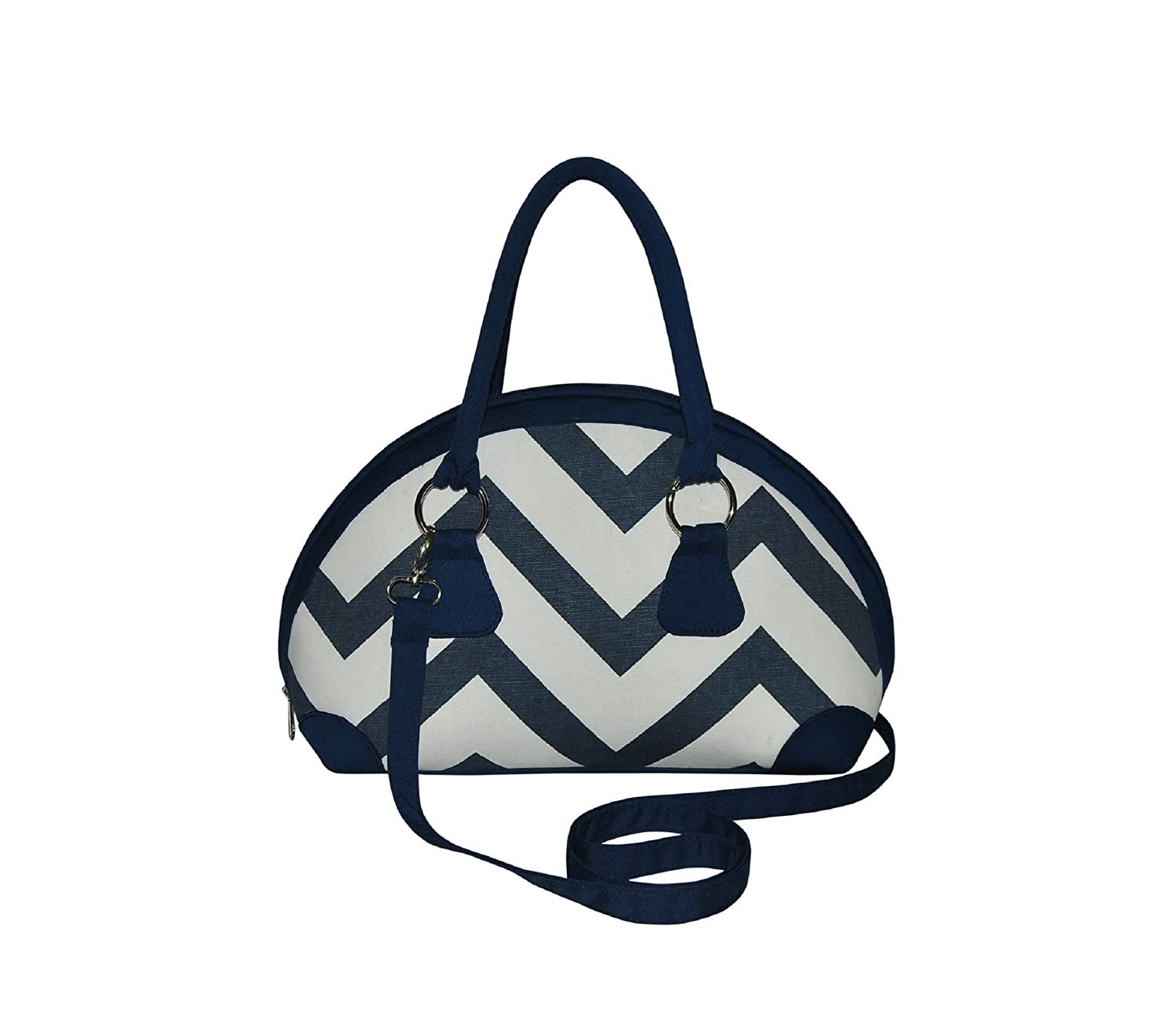 Bowling Fairtrade Chevron Canvas Handbag by Earth Squared Biscuit:  Amazon.co.uk: Shoes & Bags