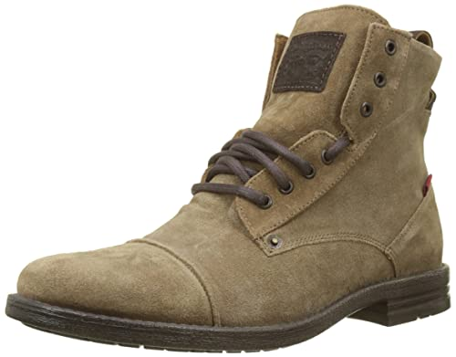 Levis Emerson, Botas Biker para Hombre, Marrón (Medium Brown 27), 45