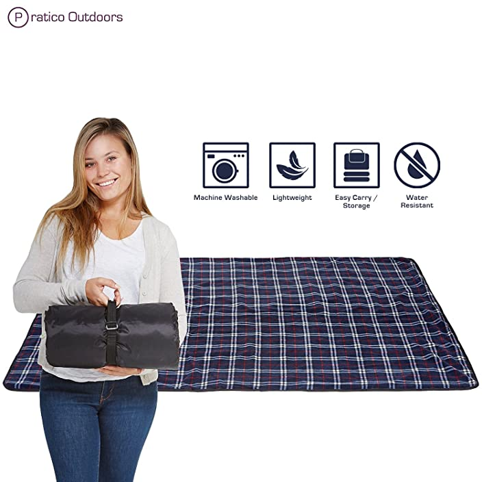 Extra Large Picnic & Outdoor Blanket with Water
