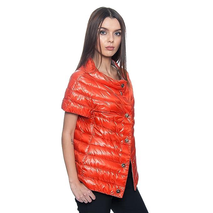 Amazon.com: herno Reversible de la mujer Naranja Plata ...