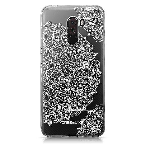 CASEiLIKE® Funda Pocophone F1, Carcasa Xiaomi Pocophone F1, Arte de la Mandala 2091, TPU Gel Silicone Protectora Cover