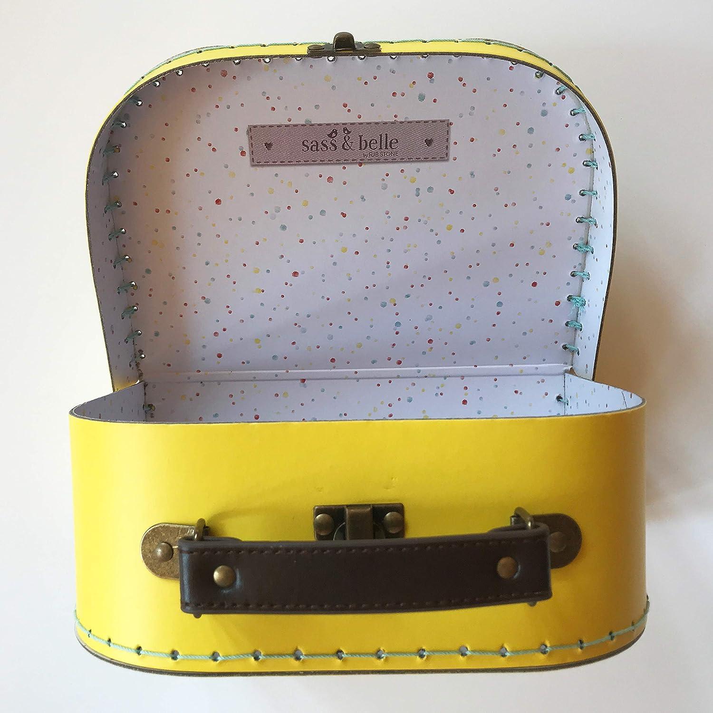 Sass and Belle rêves bébé licorne valises Set 2 stockage décoratif suit case