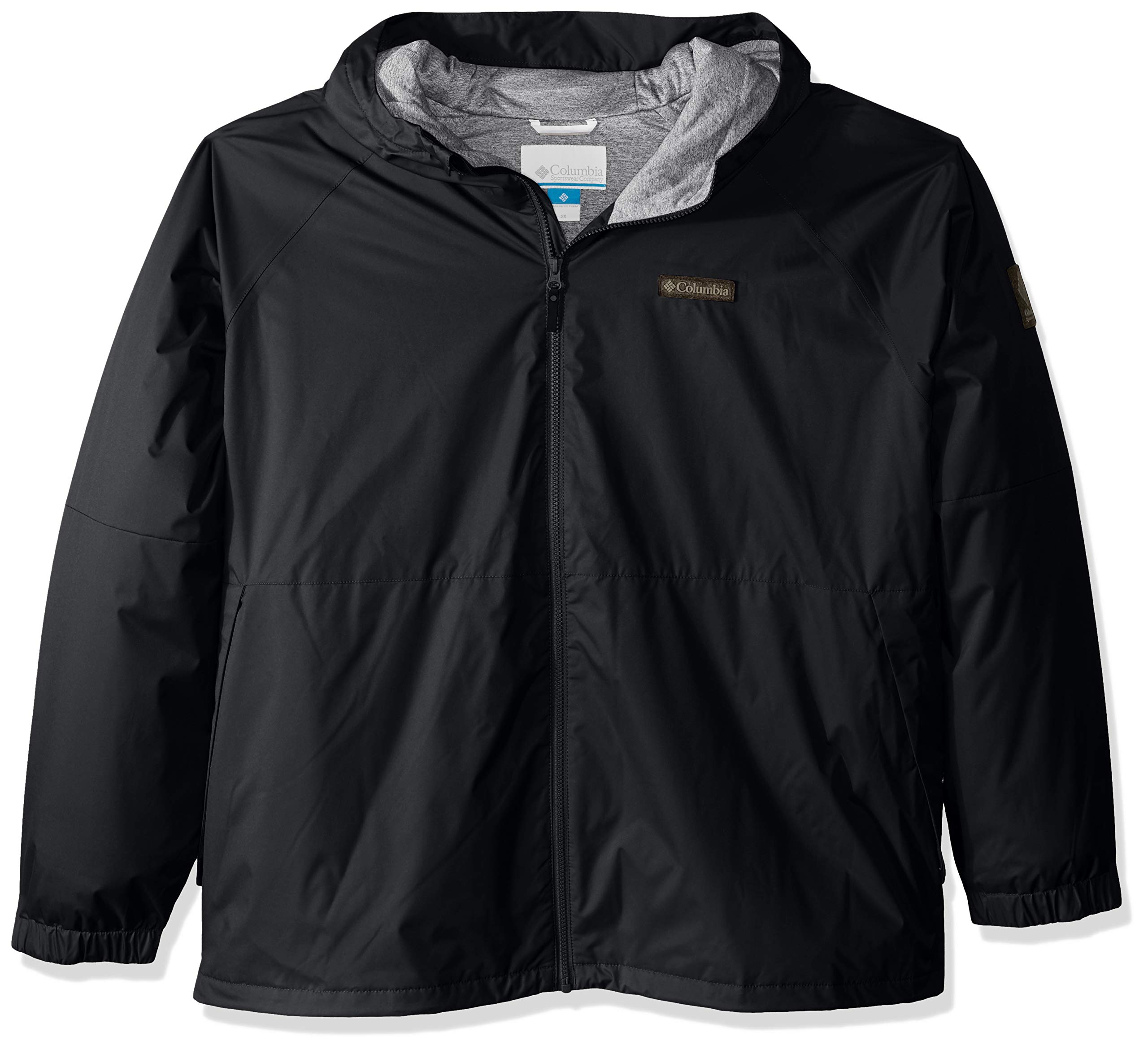 Columbia Men's Helvetia Heights Jacket, Black, 2X by Columbia