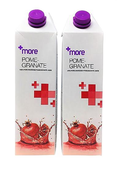Jumo de granada 100 % puro apretado por + más – Pack de 2 ...